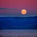 Beagle Channel Moonrise