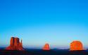 Monument Valley Blue Dawn